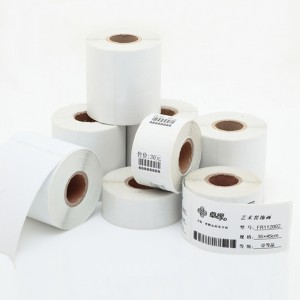 China Supplier White Thermal Sticker to Sri Lanka Manufacturers