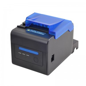 Chinese wholesale 80mm Receipt Printer USB+Serial+LAN Interfaces for Latvia Manufacturer
