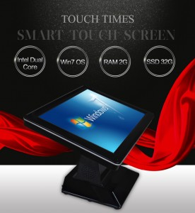 Touch Single Screen POS მანქანა
